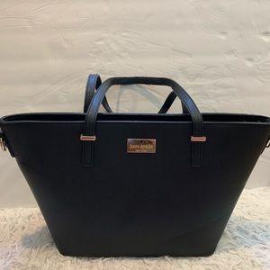 Kate Spade black bag.